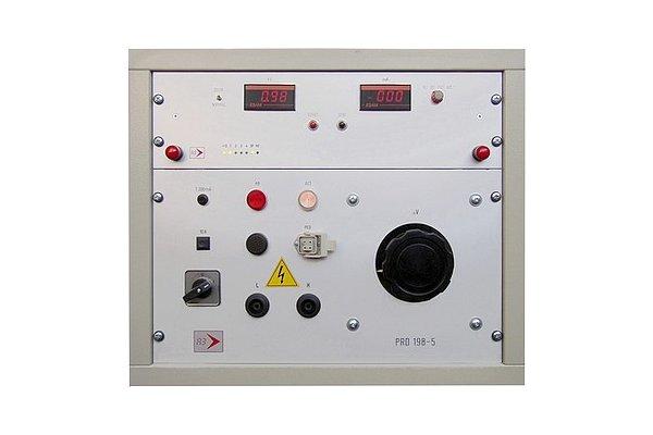04 prova rigidità dielettrica 5KV e 500mA-a3elettronica.it